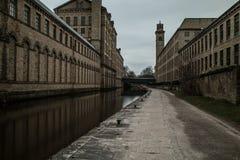 Yorkshire kanal Arkivbild