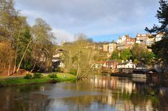 Yorkshire knaresborough England Lizenzfreie Stockfotos