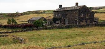 Yorkshire lantbrukarhem Fotografering för Bildbyråer