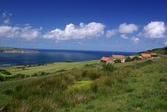 The Yorkshire Moors coast Royalty Free Stock Photos