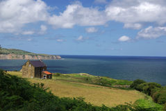 The Yorkshire Moors coast Stock Photo