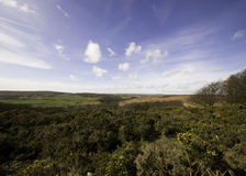 Yorkshire Moors. View across the moors in the West Riding of Yorkshire Stock Photo