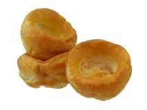 Yorkshire puddingen stock foto