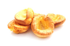Yorkshire puddings. Shot of some delicious home made yorkshire puddings Royalty Free Stock Images