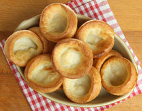 Yorkshire Puddings from Above Royalty Free Stock Images