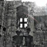 Yorkshire slott Arkivbilder