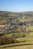Yorkshire-Tal im Vorfrühling Lizenzfreie Stockfotografie