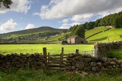 Yorkshire-Täler Stockbild
