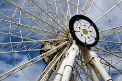 Yorkshire Wheel. Ferris Wheel in York City Centre royalty free stock image