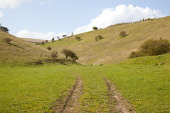 Yorkshire Wolds Countryside Stock Photography