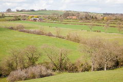 Yorkshire Wolds Landscape View Stock Photos