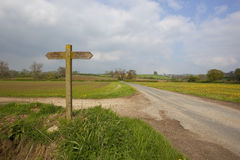 Yorkshire wolds scenery Stock Images