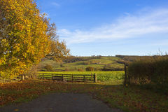 Yorkshire wolds scenery Royalty Free Stock Images