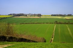 Yorkshire Wolds Stock Images