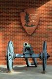 Yorktown Battlefield Visitor Center Stock Photos