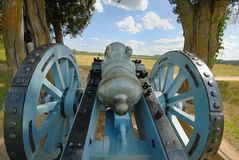 Yorktown cannon Royalty Free Stock Images