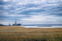 Yorktown i morgonen royaltyfri fotografi