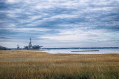 Yorktown in the Morning Royalty Free Stock Photography