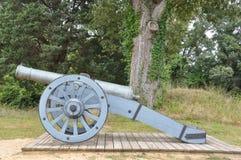Yorktown pole bitwy w Virginia Zdjęcia Royalty Free