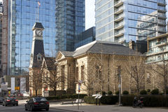 Yorkville Fire Hall and Public Library - Toronto Stock Image