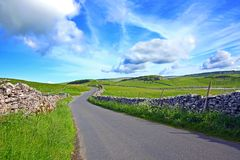 Yorskshire Dales. On a beautiful suny day Stock Image