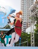 yosakoi sapporo празднества Стоковое фото RF