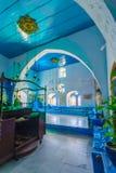 Yosef Caro犹太教堂,采法特 免版税库存图片