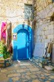 Yosef Caro犹太教堂,采法特 免版税图库摄影