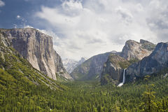 Yosemite. Valley of Yosemite Park, California, USA Stock Photos