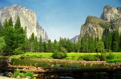 yosemite Obraz Stock