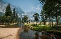 Yosemite ładna rzeka Zdjęcia Stock