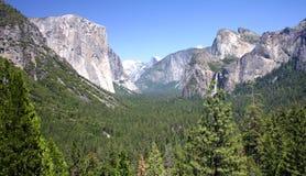 Yosemite-Ansicht Stockfoto