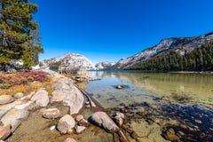 Yosemite backcountry bij gouden uur royalty-vrije stock afbeeldingen