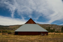 Yosemite Barn Royalty Free Stock Image