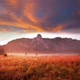 Yosemite bij zonsopgang Royalty-vrije Stock Afbeeldingen