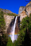 Yosemite Bridalveil fall waterfall California Royalty Free Stock Image