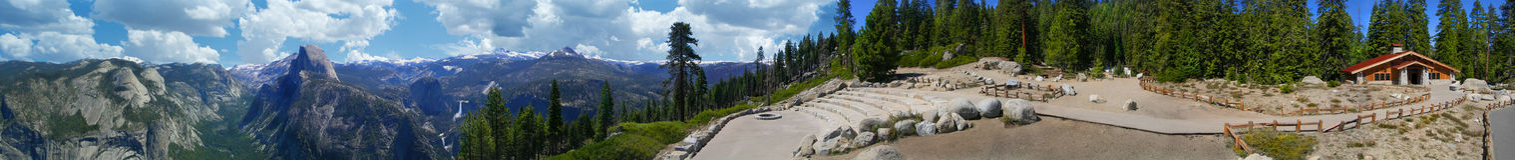 Yosemite California panorámica Fotografía de archivo
