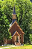 Yosemite Chapel Stock Images