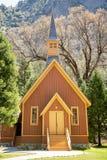 Yosemite Chapel Royalty Free Stock Images