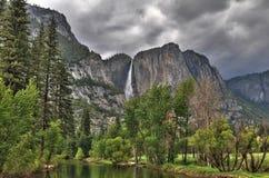 Yosemite compite del río Fotografía de archivo