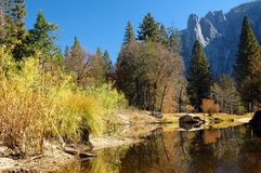 Yosemite Creek Royalty Free Stock Image