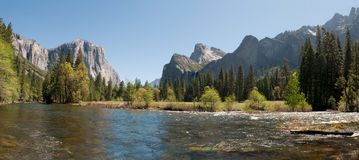 Yosemite dal, Kalifornien Royaltyfria Bilder