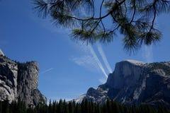 Yosemite dal - Kalifornien Arkivbild