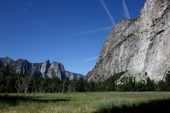 Yosemite dal - Kalifornien Royaltyfria Foton