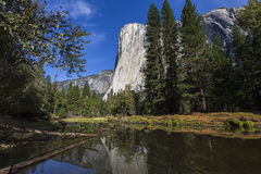 Yosemite dal, Yosemite nationalpark, Kalifornien, USA Arkivbild