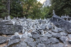 Yosemite dal, Yosemite nationalpark, Kalifornien, USA Royaltyfria Foton