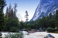 Yosemite dal, Yosemite nationalpark, Kalifornien, USA Royaltyfri Foto