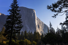 Yosemite dal, Yosemite nationalpark, Kalifornien, USA Fotografering för Bildbyråer