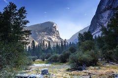 Yosemite dal, Yosemite nationalpark, Kalifornien, USA Arkivfoto
