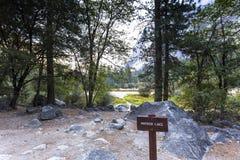 Yosemite dal, Yosemite nationalpark, Kalifornien, USA Royaltyfri Foto